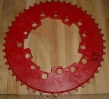Vintage NOS Old School BMX Addicks 48th Red Chainring