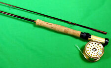 Flylite Dennison miniature 5' 3-weight fly rod reel combination  New w/ case