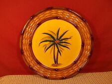 "Pacfic Rim China Palm Design Dinner Plate 11 1/8"" #2"