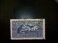Stamps, Italy, Scott #C26, used(o), 1930 air mail, Virgil Set, Jupiter and Eagle