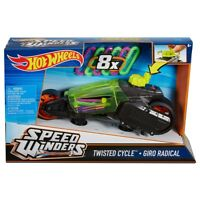 Hot Wheels Speed Winders Twisted Cycle ~ Green & Black DPB67 ~NEW~