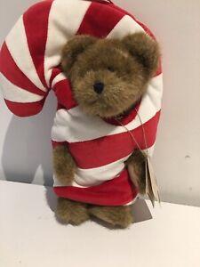BOYDS COLLECTION TEDDY BEAR  WITH TAGS 33 Cm  HEAD