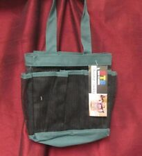 B.T.S. NEW SHOWER MESH/CANVAS CADDY-GREAT FOR DORM ROOM!!-GREEN