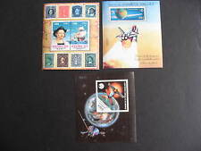 CHILE 3 MNH souvenir sheets, Sc 702a, 821c, 1043a, check them out!