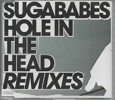 SUGABABES -Hole In The Head Remixes- 4 track Promo CD Full Intention D-Bop