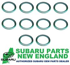 Genuine OEM Subaru Drain Plug Gasket Crush Washer (10-Pack) 803916010 x10
