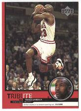 Michael Jordan 1999 Upper Deck Tribute Sizzle season open win Basketball Card