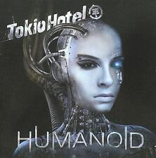 TOKIO HOTEL HUMANOID RARE DELUXE 2 CD EDITION ENGLISH AND GERMAN ALBUMS new