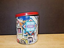 """BOY SCOUT AMERICA'S POPCORN CANISTER, TRAIL'S END, """"DO THE STUFF WE DO"""""""