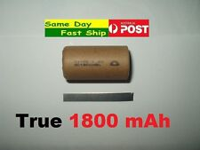 High Quality Sub C SC True 1800 mAh Ni Cd Rechargeable Battery For Drill Vacuum