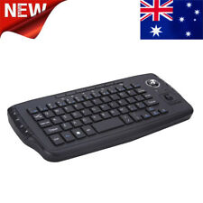 Popular 2.4G Mini Wireless Keyboard Multi-Media Functional Track Ball Air Mouse