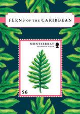 Montserrat - 2012 FERNS OF THE CARIBBEAN STAMP SOUVENIR SHEET MNH