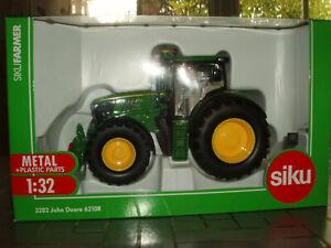 tracteur JOHN DEERE 6210R ,SIK3282,  échelle1/32,  SIKU