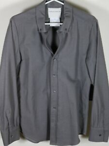 Stephan Schneider Brushed Flannel Button Down Shirt Size 4 Brand New