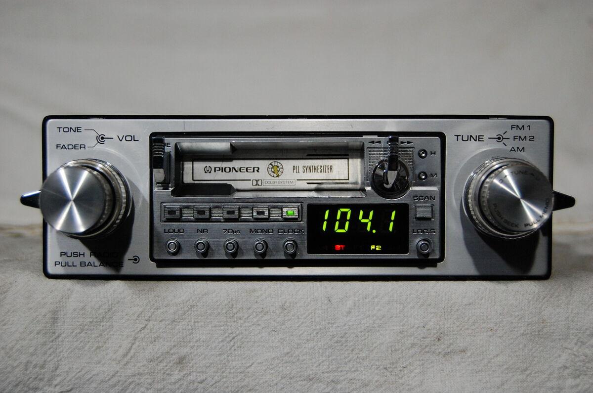 Vintage Car Stereos