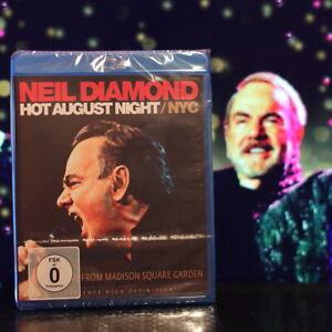 NEIL DIAMOND HOT AUGUST NIGHT / NYC Live Blu-ray *Neu&OVP* Blitzversand aus D.