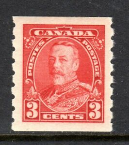 CANADA 1935 KING GEORGE V -- COIL STAMP -- MLH -- 3 CENT
