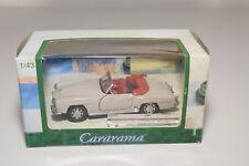 F CARARAMA MERCEDES-BENZ 190SL 190 SL ROADSTER CREAM MINT BOXED