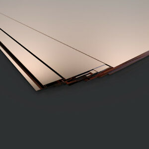 0.5mm Copper sheet /plate - guillotine cut- model making supply  - various sizes