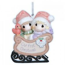 Precious Moments 'Our First Christmas Together' Dated 2012 Ornament 121004
