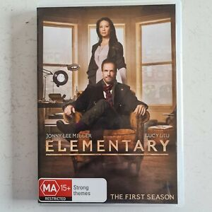 Elementary First Season (6-Disc DVD Set) Lucy Lui Jonny Lee Miller Tracked Post