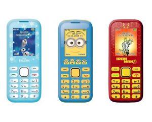 LEXIBOOK Kinder Handy Frozen Aventure Minions DUAL SIM NEU OVP