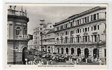 SHOPPING CENTRE, FORT, COLOMBO: Ceylon postcard (C27291)