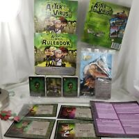 After the Virus FRYXGames Board Game &  STREET FIGHTER EXCEED 2 player Card Game