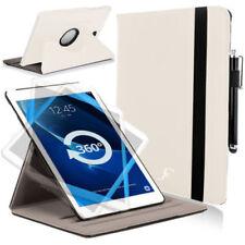 """Custodie e copritastiera bianchi per tablet ed eBook pelle , Dimensioni compatibili 10.1"""""""