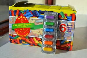 6 Colours Easter Egg Dye Paint Capsules for Decorating Painting Craft Art Eggs