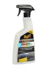 Meguiar's Ultimate WASH and WAX ANYWHERE lavage auto sans eau peinture jante