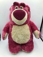 Toy Story 3 Lots o Huggin Plush Kids Stuffed Toy Animal Pink Bear Disney Pixar