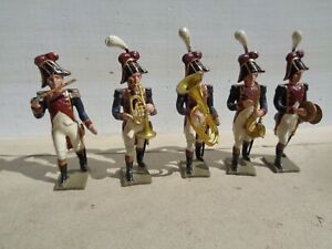 vintage CBG Mignot, Napoleonic French Band of Grenadier Guard  lead soldier, JL