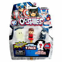 Marvel Ooshies Heroes 4-Pack Series 2 Collectable Pencil Topper Figures New