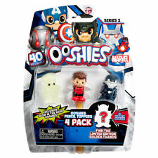 Ooshies Marvel Heroes 4-Pack Series 2 Collectable Pencil Topper Figures New