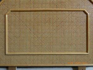 vintage bamboo headboard retro cane bed head board mid century
