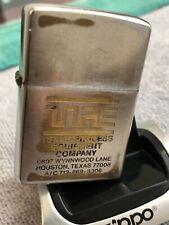 Texas Process Equipment Co. Zippo 1977 (/-/) Lighter Made in Usa Stk #Z962