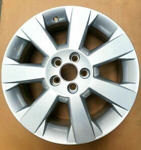 "1x Original GM Opel 13167534 Alloy 7Jx17 "" Silver 5x 110mm Signum, Vectra C"