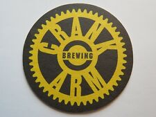 Beer Brewery Coaster <> CRANK ARM Brewing <> Raleigh, NORTH CAROLINA Breweriana