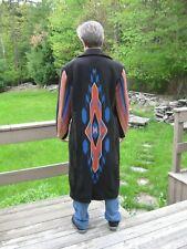 Manuel Indian Blanket Style Overcoat, Nudie, Gram Parsons, Dwight Yoakum