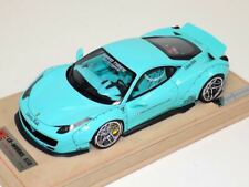 "1/18 Ferrari 458 Liberty Walk LB Performance in Tiffany Blue ""A"" N BBR or MR"