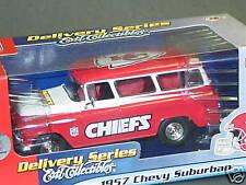 NFL Die Cast, 1957 Chevy Suburban, Kansas City Chiefs