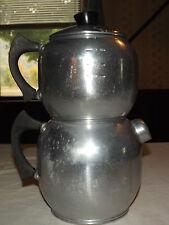 "VINTAGE KITCHEN  1950S WEST BEND KWIK DRIP 15"" HIGH 18 CUP COFFEE MAKER"