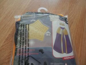 Wise Men Age 3-7 Years Nativity Costume With Crown.New In Pack.