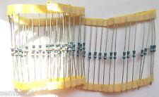 100k 1/2w 0.5w Film Metallico Welwyn MFR4 1% Resistore 100,000 ohm x50pcs