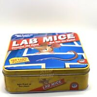 Lab Mice Connect The Squares Game. 100 Game Boards, 1 Pen, Instructions, EUC!