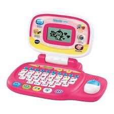 Vtech Tote And Go Laptop Computer Kids Toddler Learning Games Education Pink NEW