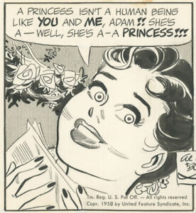 Bob Lubbers, Long Sam dailies, February 19-20, 1958, NO RESERVE!