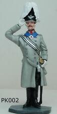 Metal Toy Soldier Prussian Kaiser Wilhelm II Birthday Review in Berlin 1913 KB23