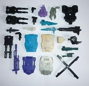 Transformers G1 - Autobot & Decepticon Combiner Parts (Multi-Item Listing)